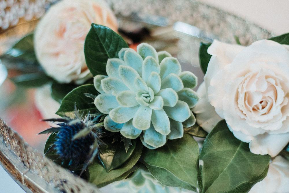 Love & Luster Floral Design Succulent Boutonniere