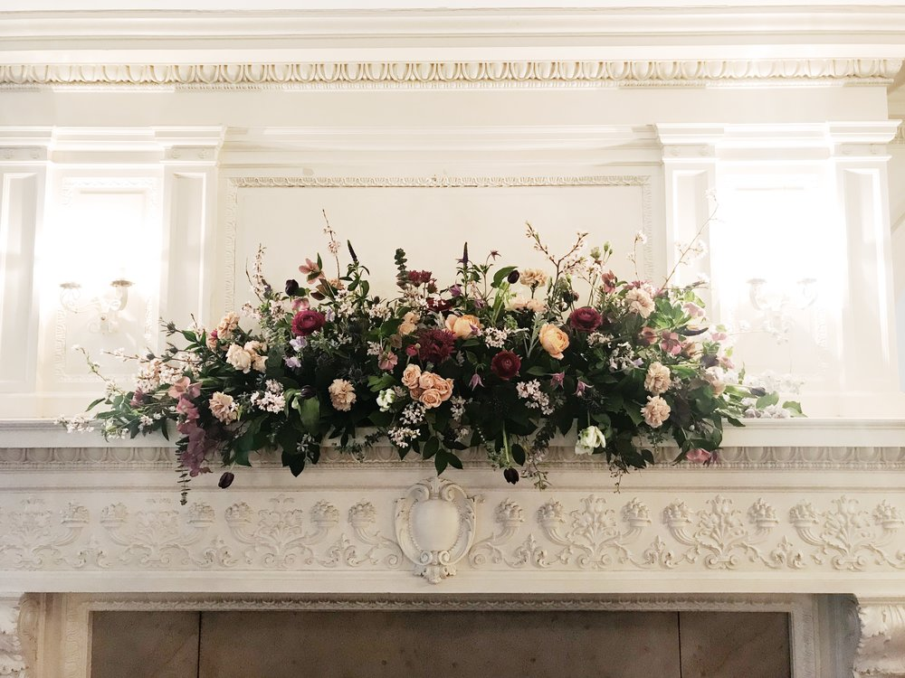 Florals by Love & Luster at the Liriodendron Mansion