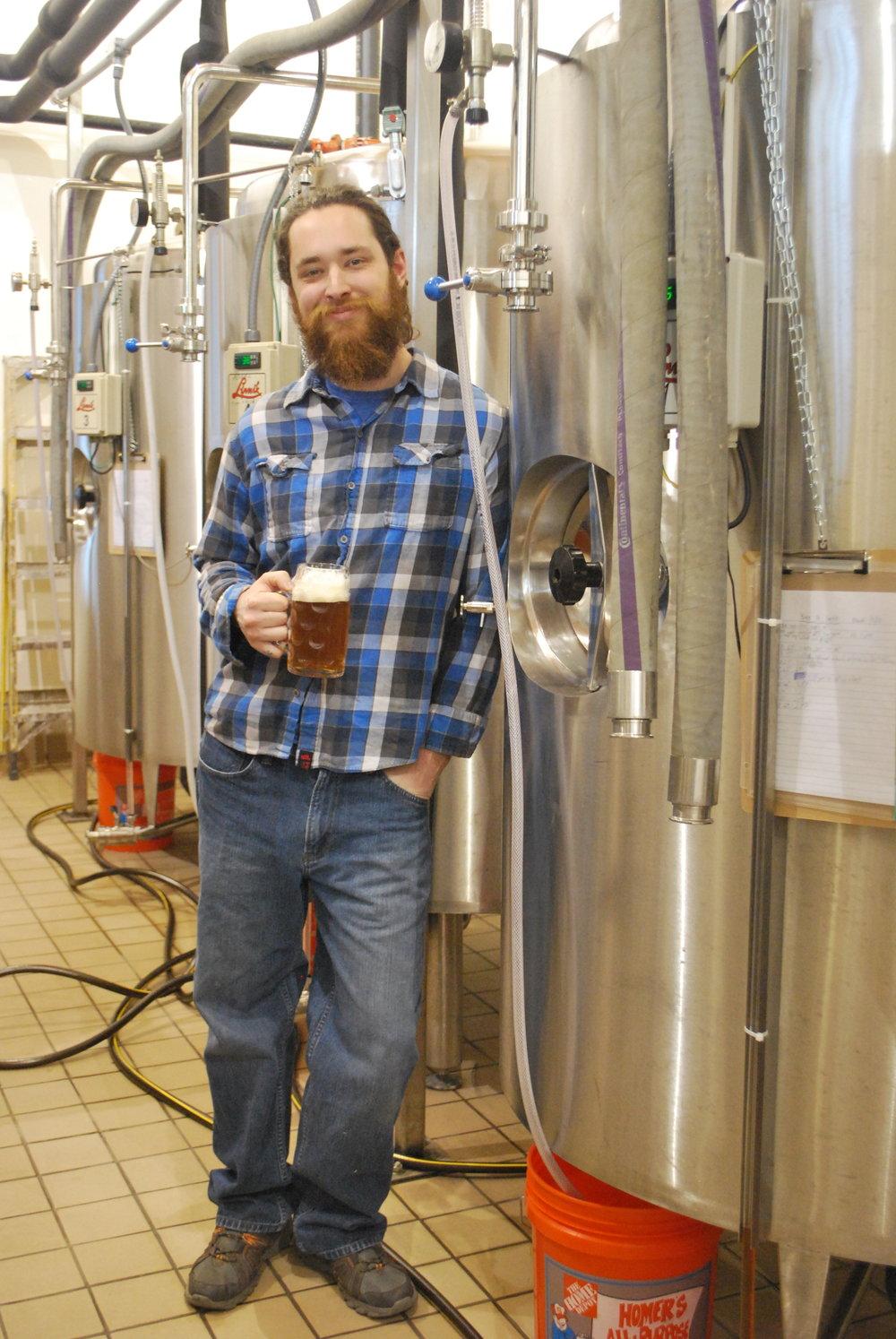 Corey Miller of Hansa Brewery