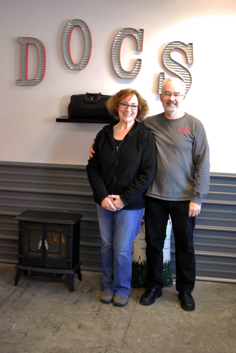 Ken and Sherri Howard welcome you to their distillery!