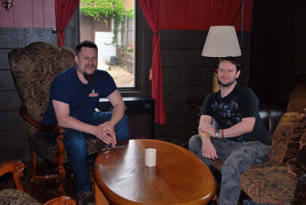 Richard Read, Cider Master (Co-Owner/Founder) with Steve Le Noury (Cider Master/Co-Owner)