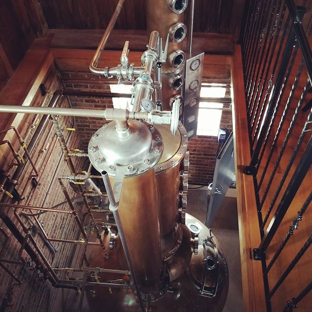 Overlooking the still at Red Eagle