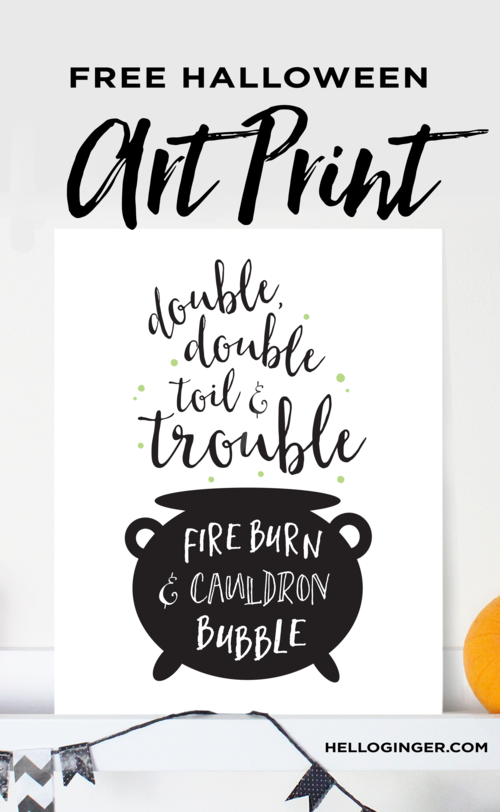 download double double toil and trouble