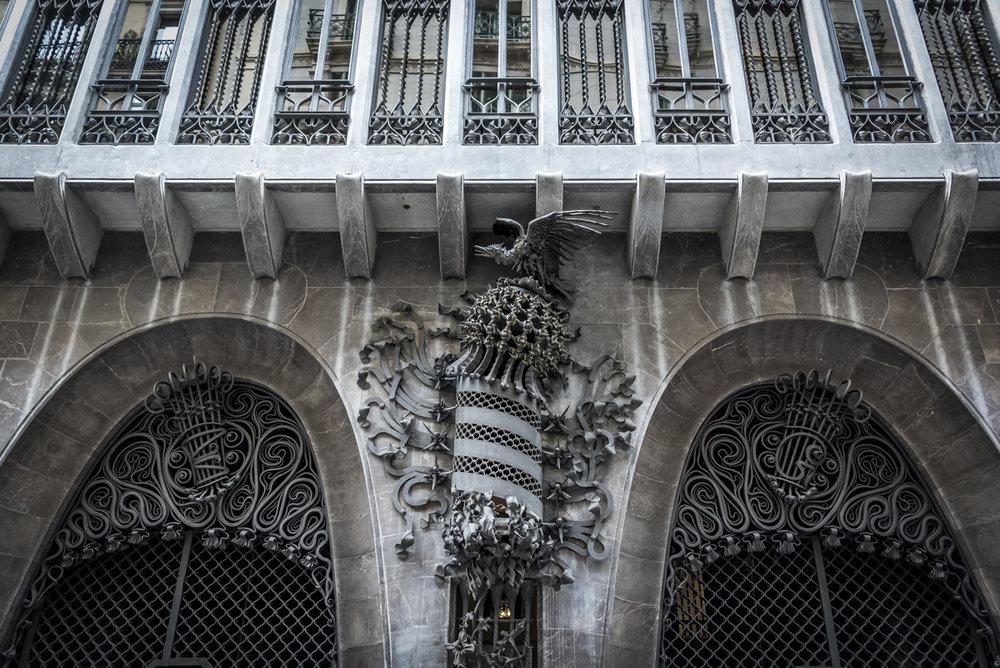 Palau Güell - a house designed for Gaudí's artistic benefactor Eusebi Güell.