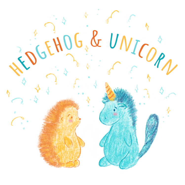 hedgehog & unicorn