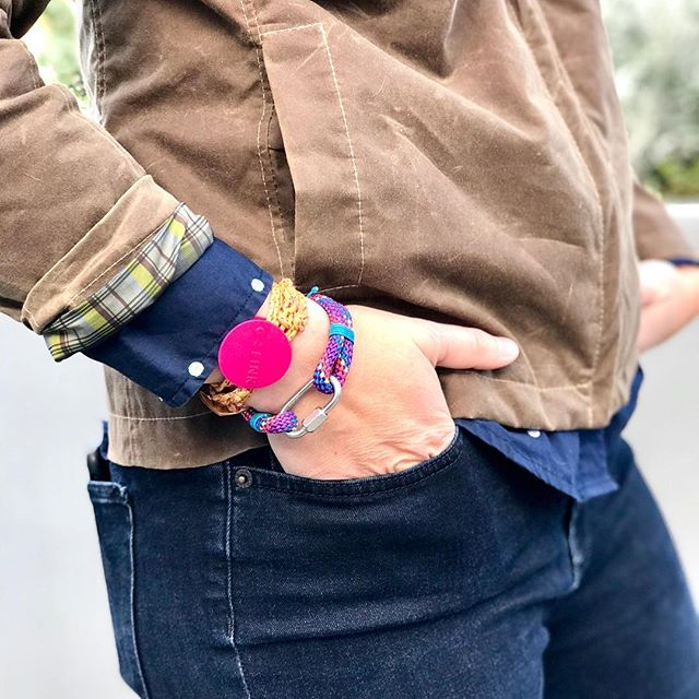 dotUP your bracelet game.  Link in bio to help end breast and ovarian cancers.  #dotUPpink #brightpink #breastcancerawareness #ovariancancerawareness