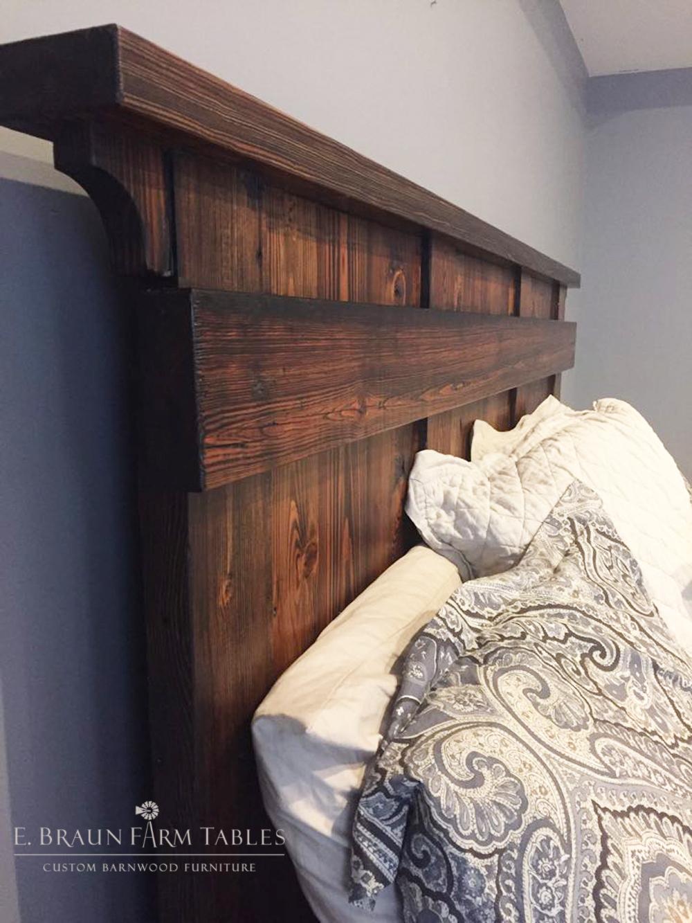 BR2 -Modified Shelf Bed - Headboard