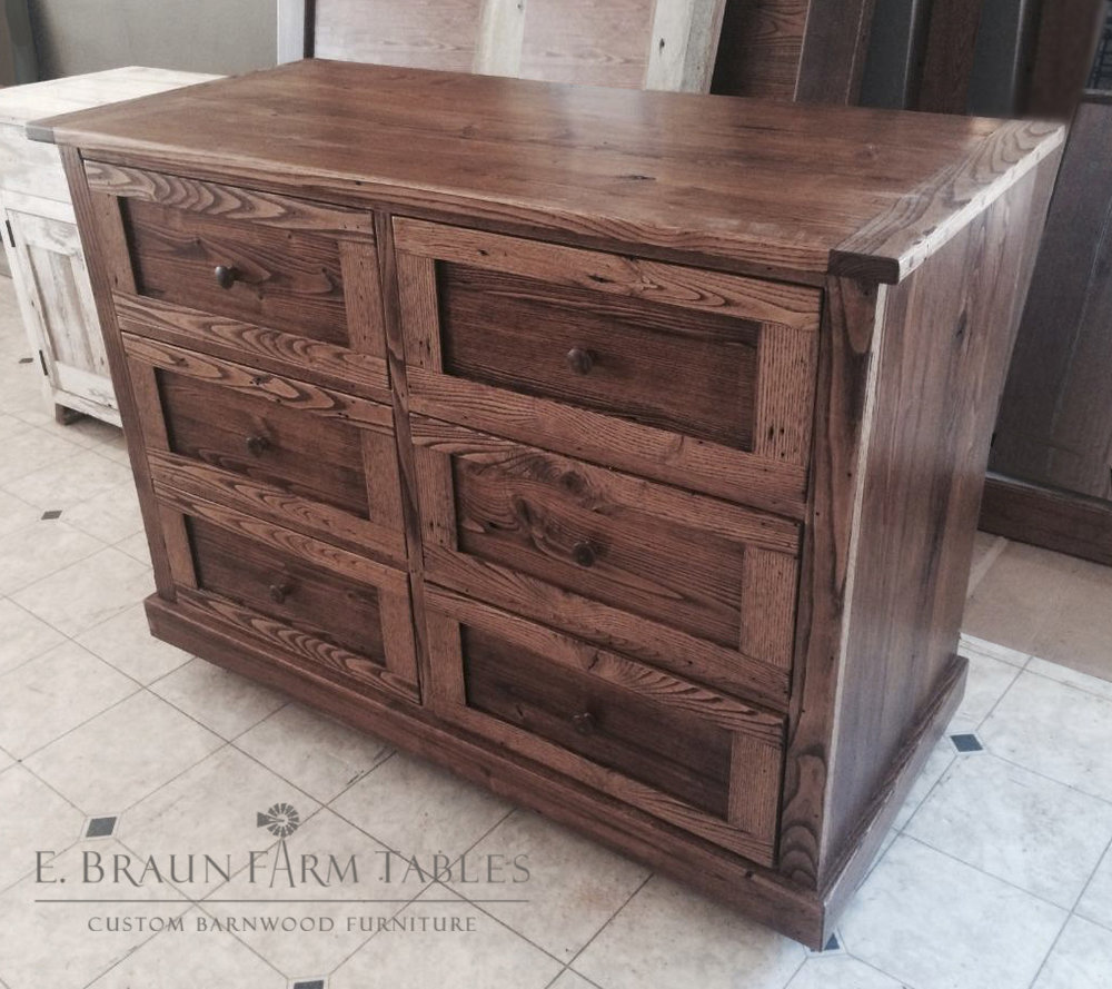 BR18 - Chestnut Chest of Drawers