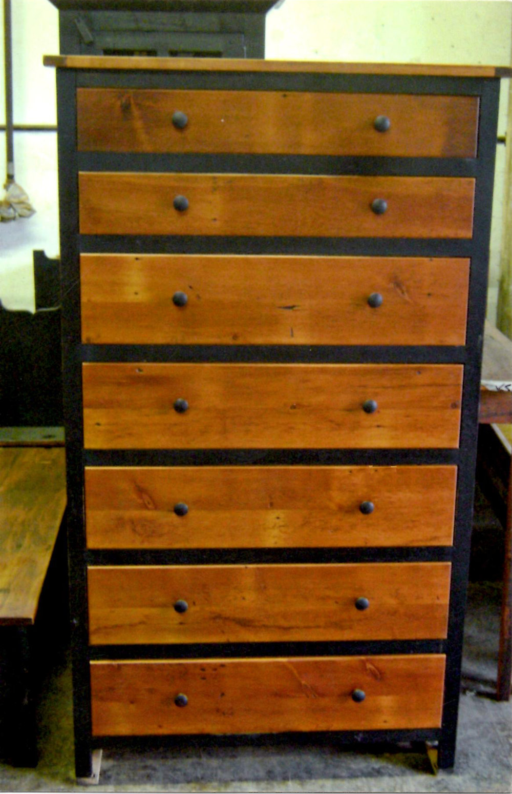 BR43 - Tall Chest of Drawers