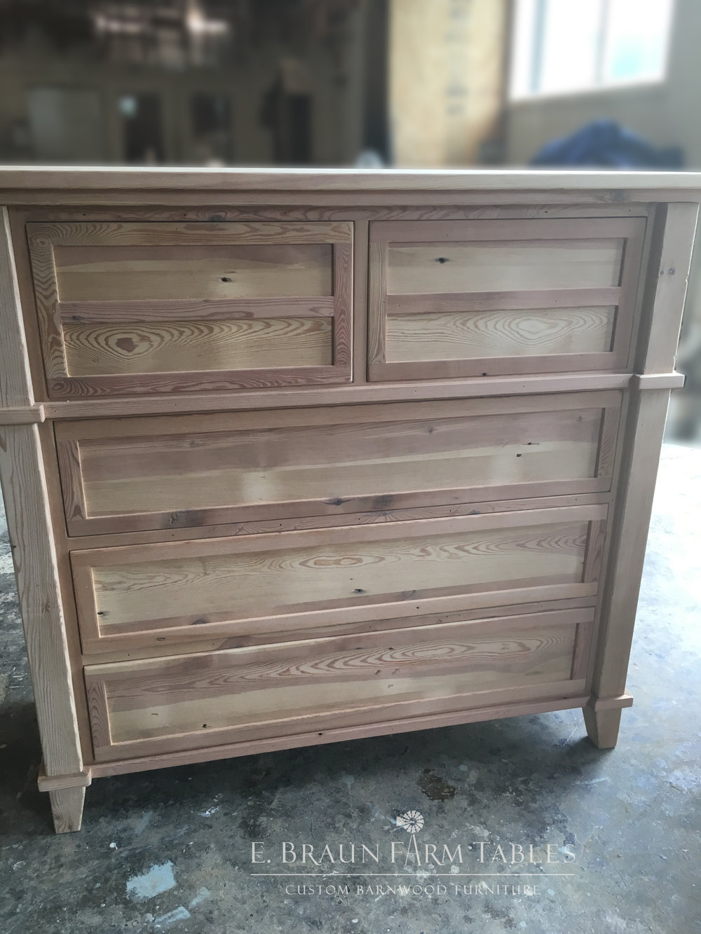 BR57 - Chest of Drawers - unfinished