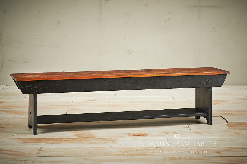 Shelf Bench