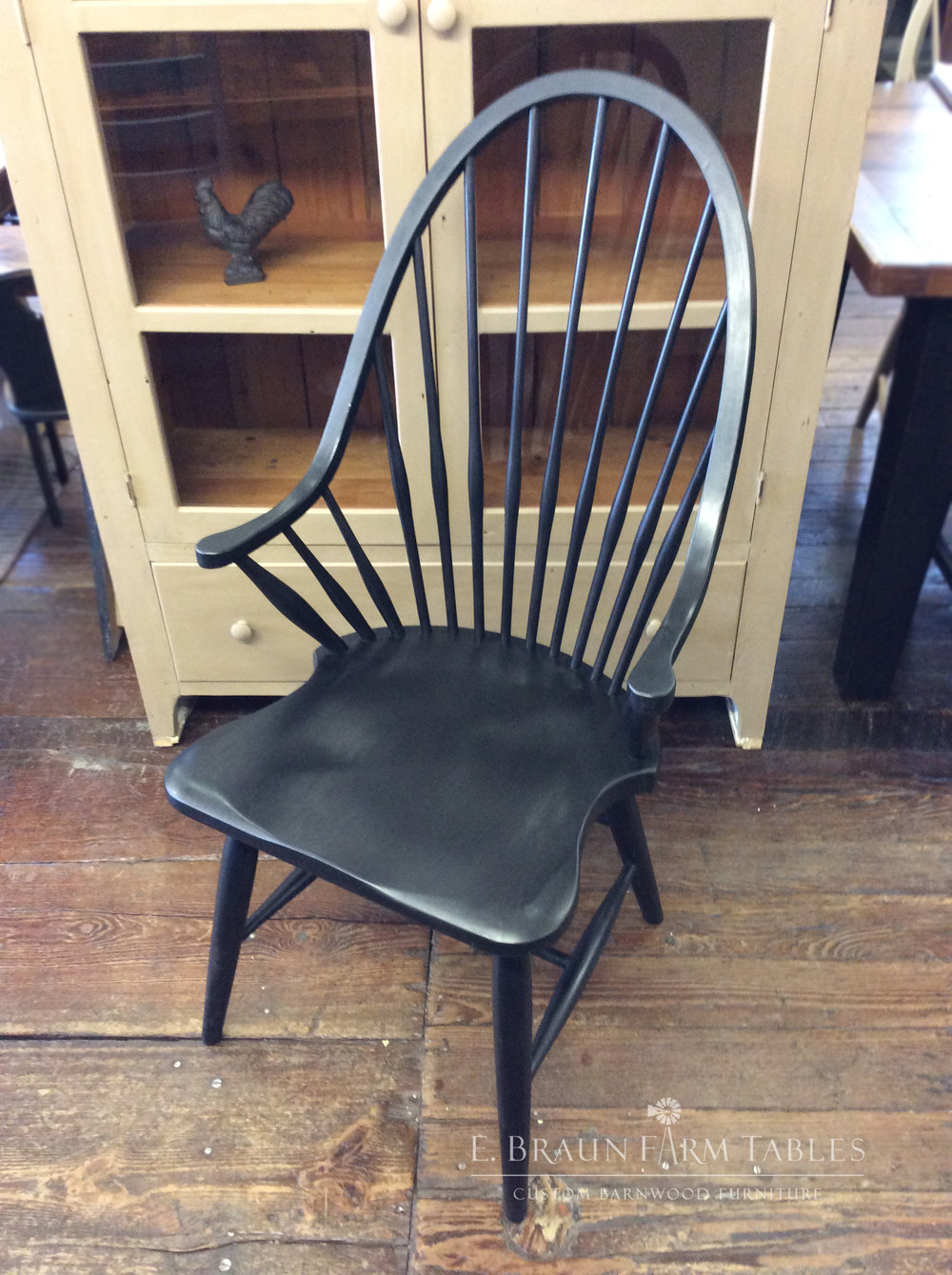 High Back Windsor Arm Chair