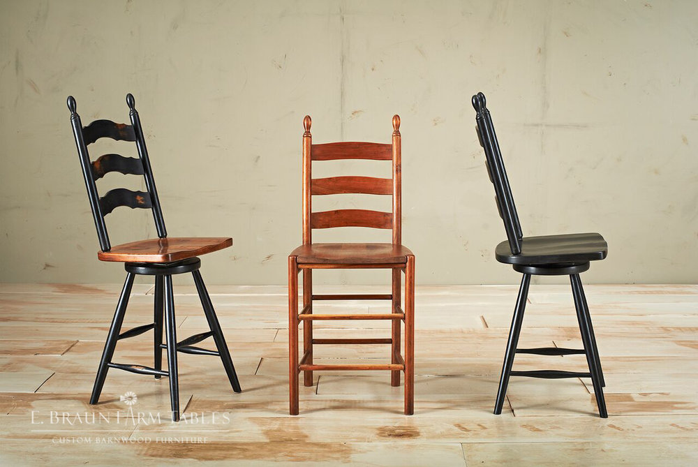Ladder Back Stools