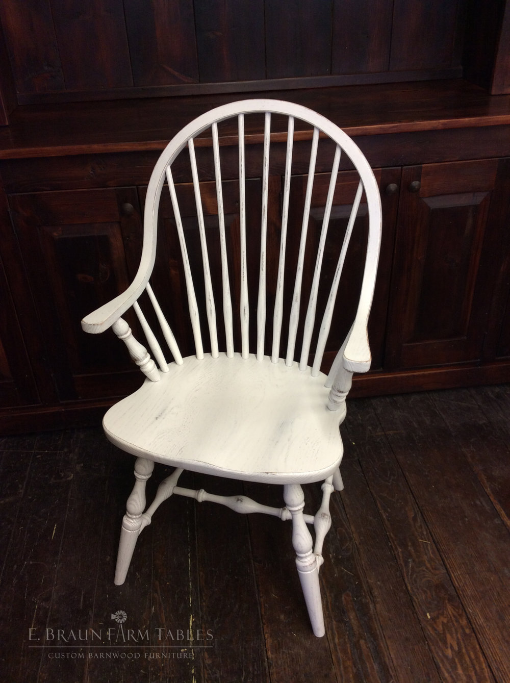 New England Windsor Arm Chair