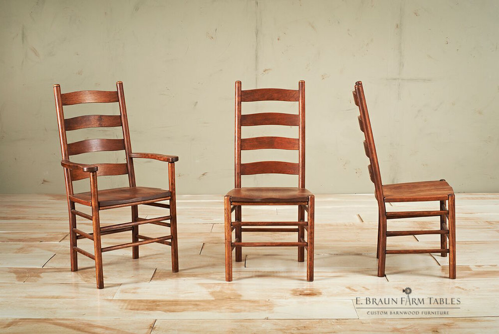 Shaker Ladder Back Chairs