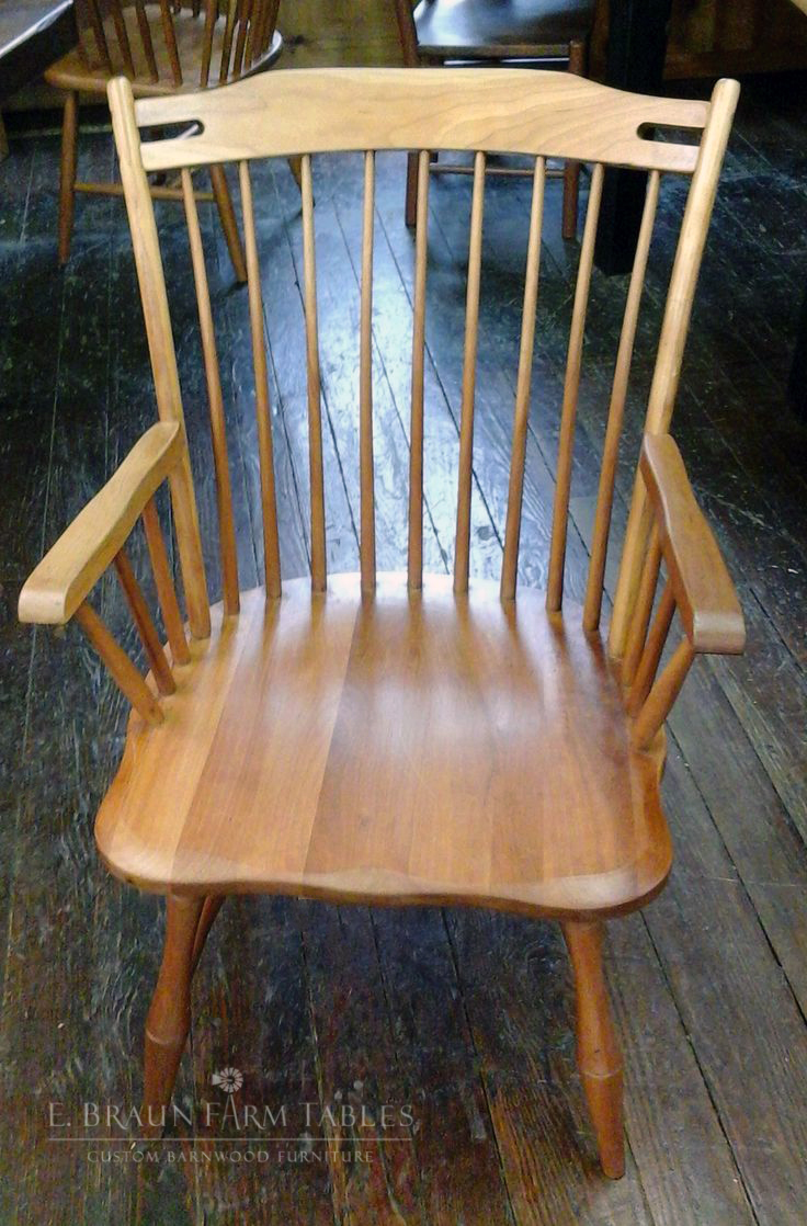 Thumb Back Windsor Arm Chair