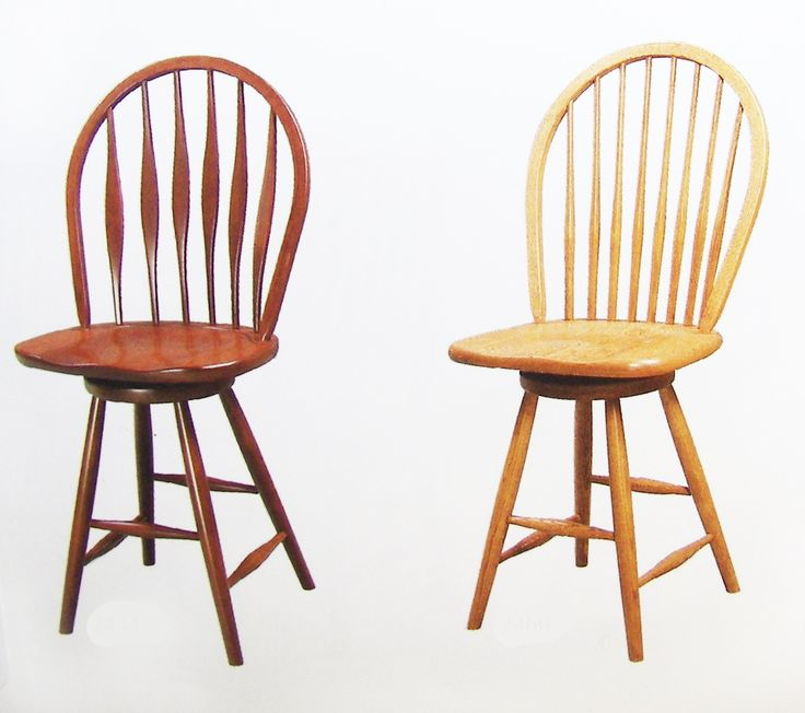 Malibu and Eight-Spindle Stools