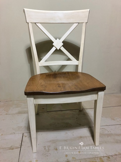 Braslow X-Back Side Chair