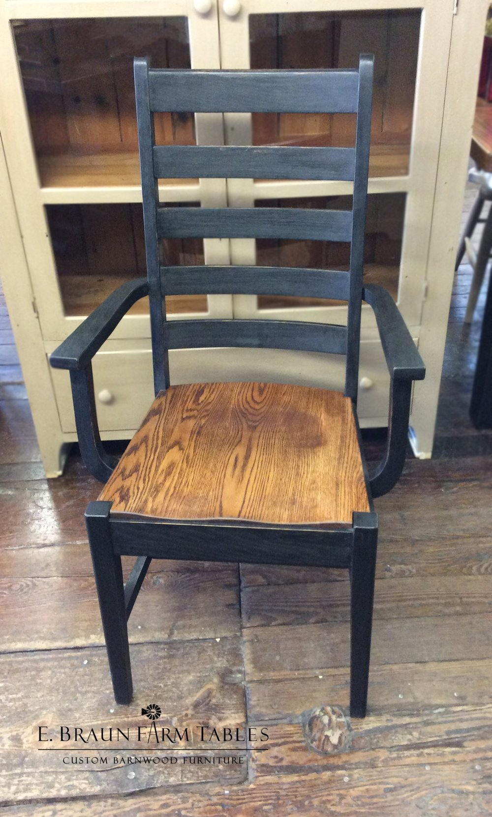 Manhattan Ladder Back Arm Chair