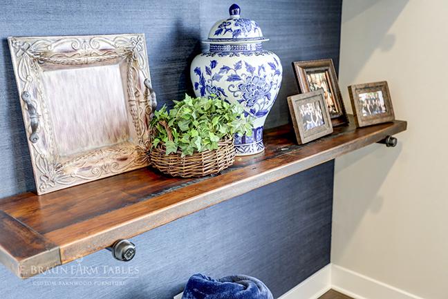 Reclaimed White Pine Shelf