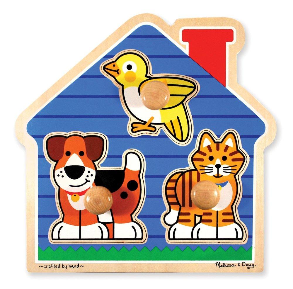 - Melissa & Doug 3-piece Puzzle