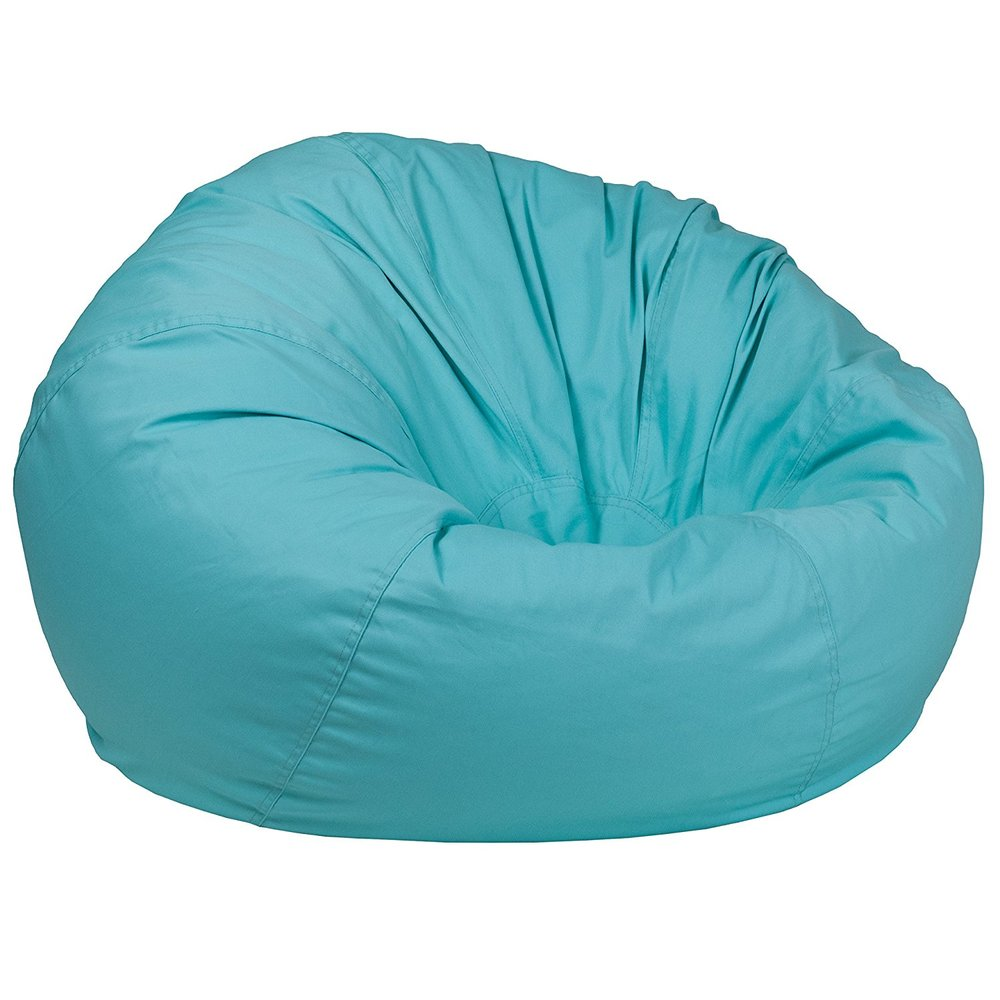 Here's a cozy option for a reading nook or calm down center:   Over-sized Beanbag Chairs by Flash Furniture