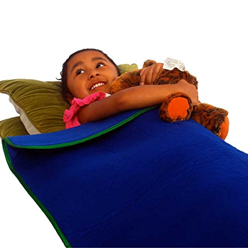 - Here is a perfect naptime weighted blanket by Fun & Function