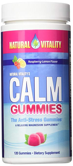 - Natural Vitality Magnesium Calm Kids Gummies