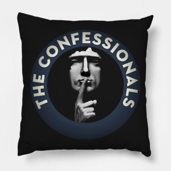 The Confessionals Throw Pillow