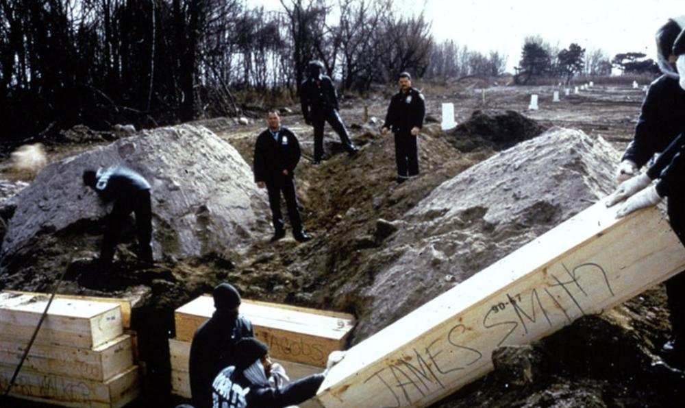 Mass graves, 1992.