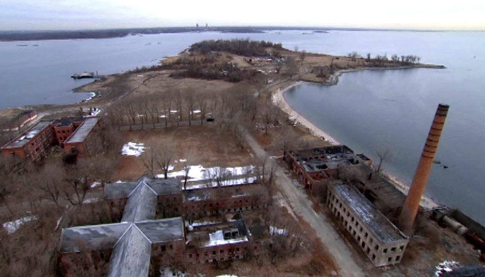 Hart Island, New York.