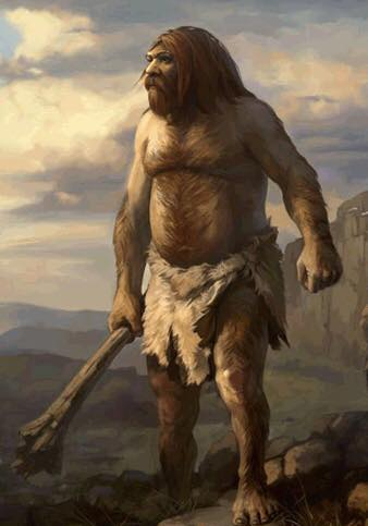 Are old legend giants really living in the modern day world?
