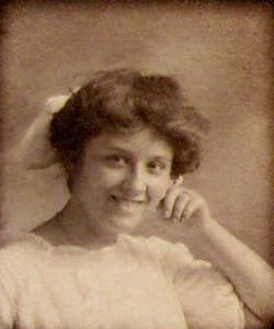 Gwendolyn Mayer. September 30, 1889 - January 13, 1908.