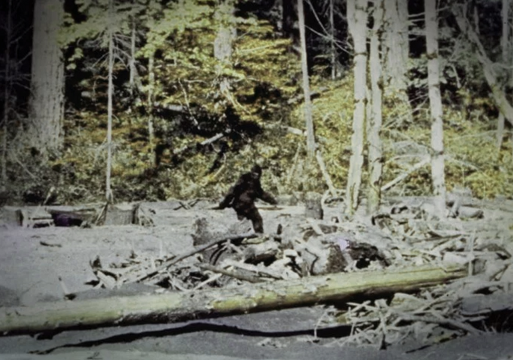 Bigfoot from the Patterson-Gimlin film