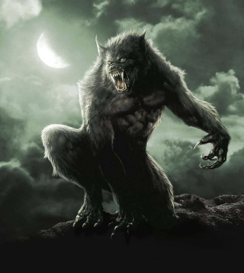A Loup-garou actually seems to be closer to a wolf than an ape