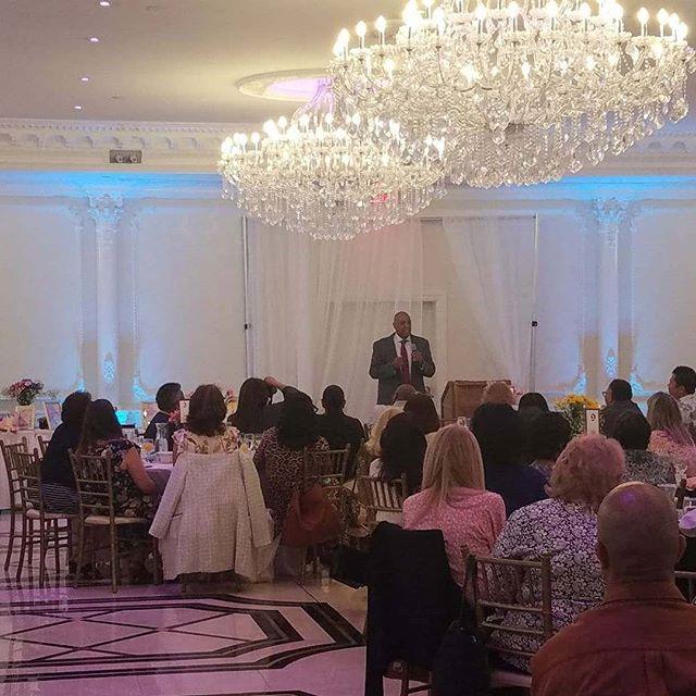 Speaking at the NJ Elks Developmental Disabilities Agency conference