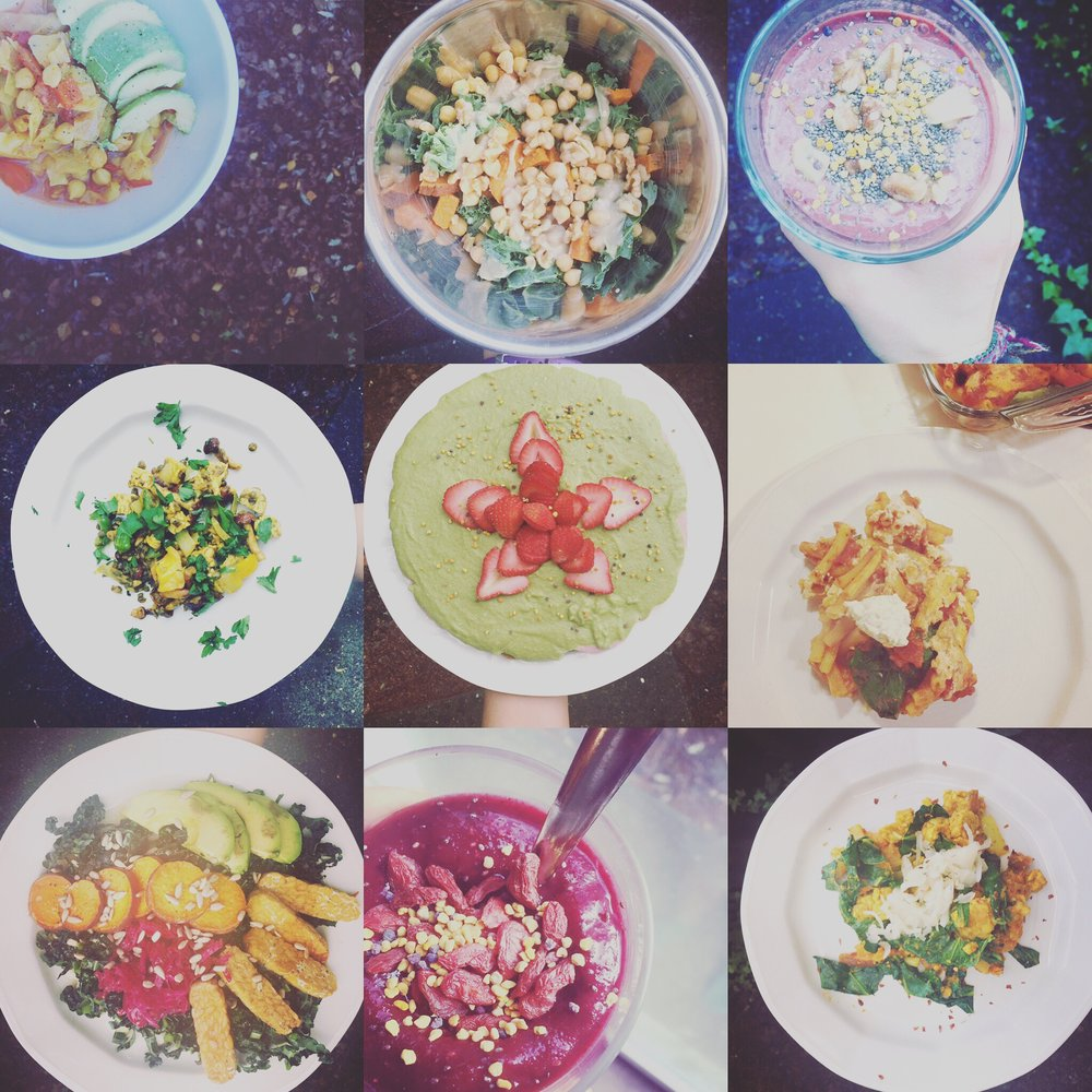 Photos from my plant-based food Instagram. Follow @klim_kitchen for inspiration and recipes.