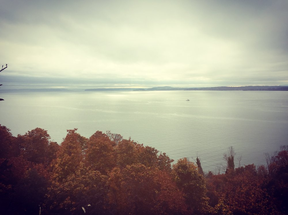 Fall Gloom over Puget Sound