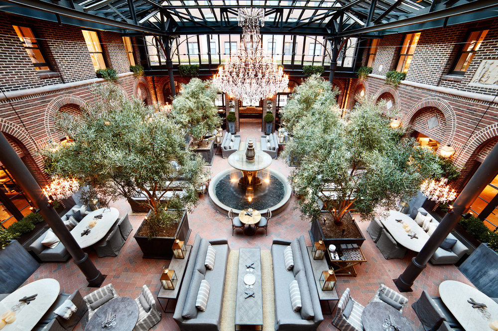 3 Arts Cafe at Restoration Hardware