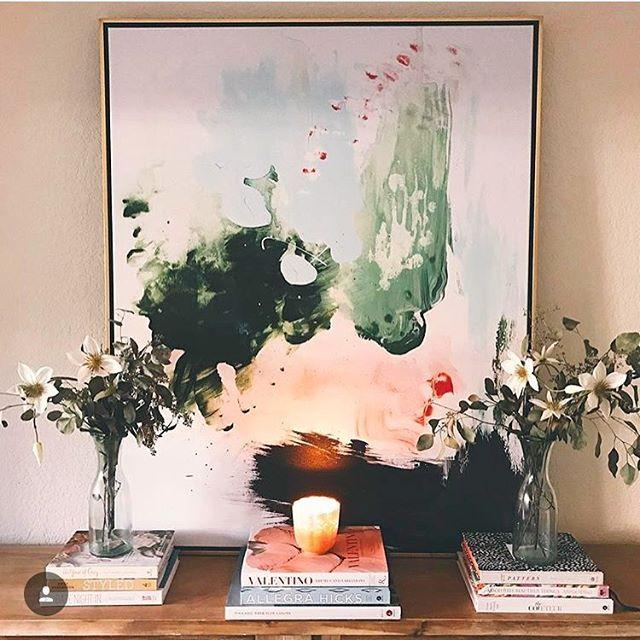 Home decor goals💐 via @littleblondebook