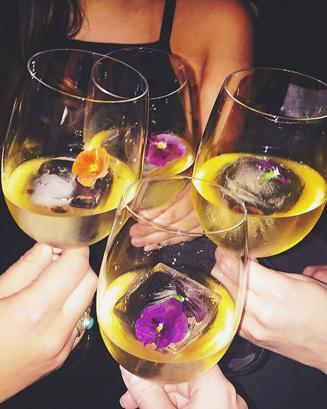A night out with the girls is a night well spent🥂 #TGIF #cheerstothefreakinweekend
