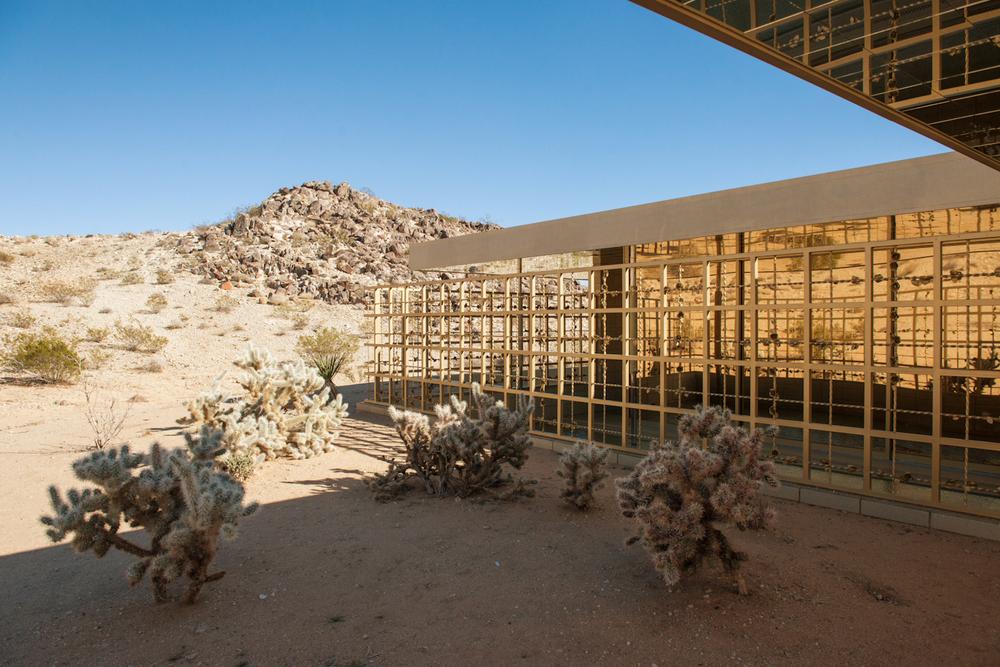 The exterior of Acido Dorado, via Airbnb.