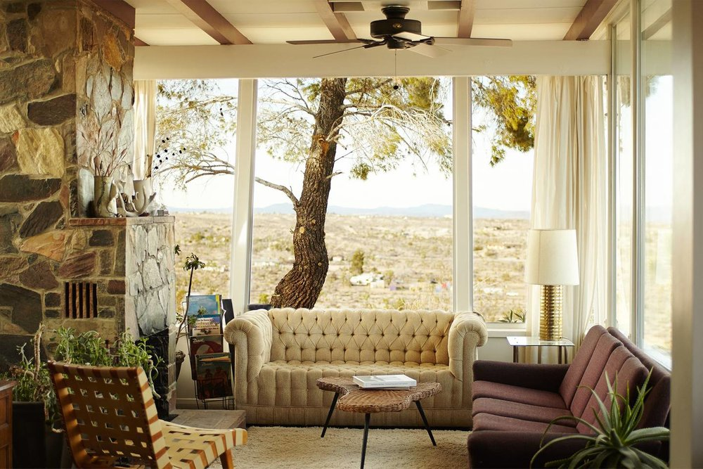 The High Desert House via Airbnb.
