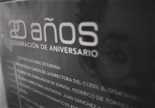 #FOCOSTV | Uno de los principales promotores culturales de El Salvador es el @cce_sv. Conoce todos los proyectos que ha desarrollado en estos #20delCCESV en el enlace de nuestra bio 🔝