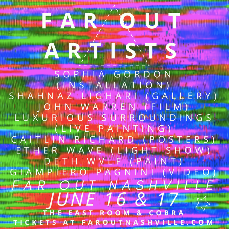 FAR OUT NASHVILLE FESTIVAL ARTISTS