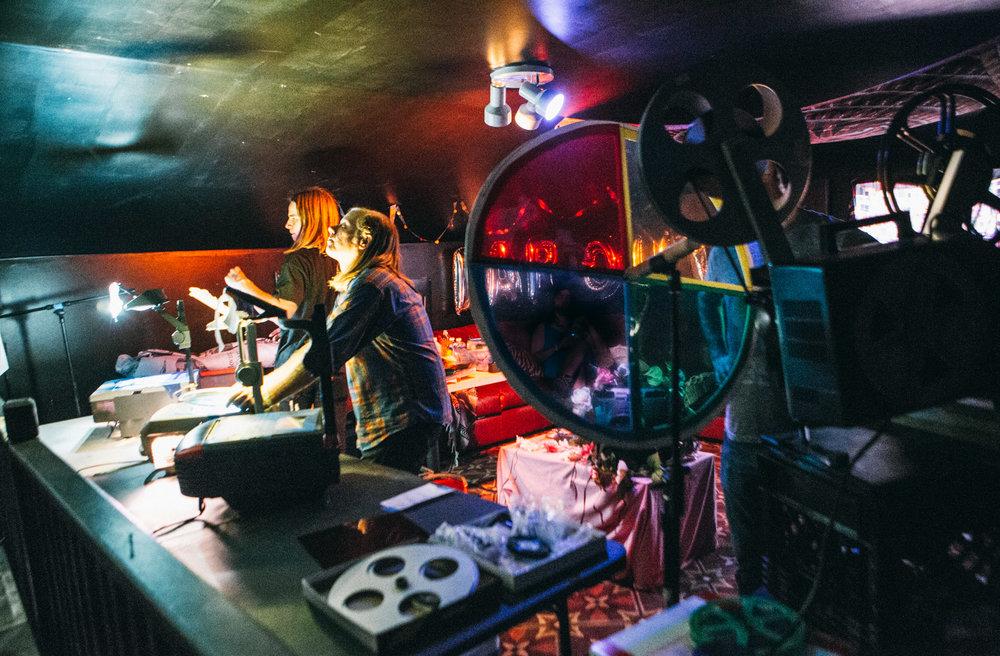 DIG DEEP LIGHT SHOW - FAR OUT FEST 2017 - PHOTO BY AMBER DAVIS