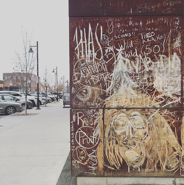 I like your artsy downtown, Tulsa.