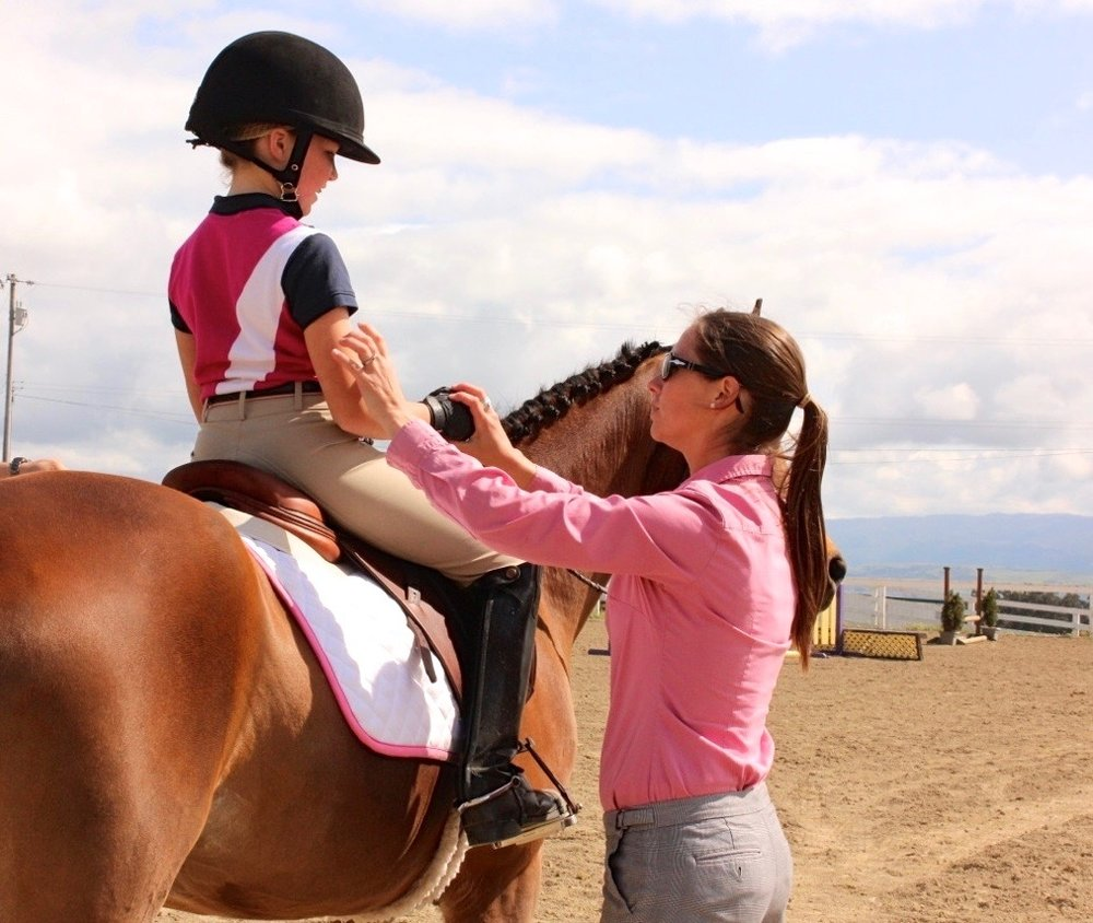 Equitation Riding Clinic -
