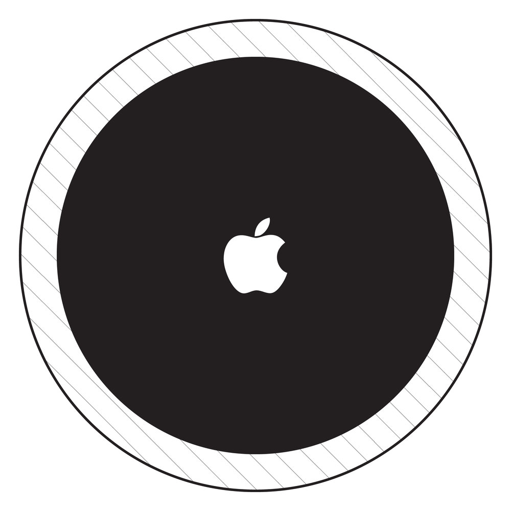 Apple's core brand & playground (Solid Black is core)