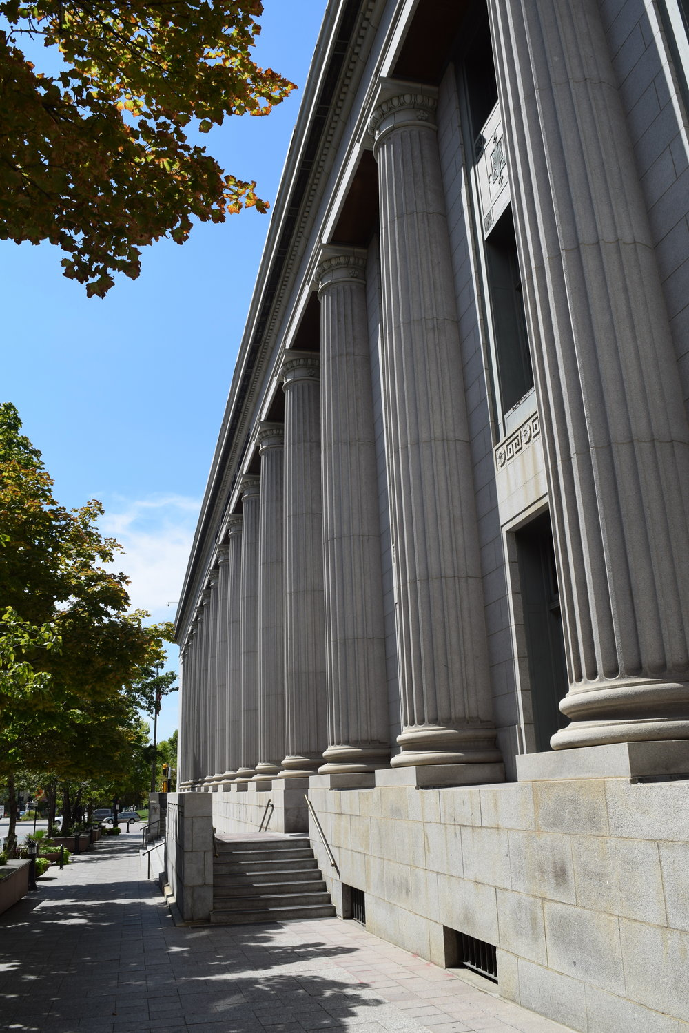 The old federal courthouse in Salt Lake City, Utah.